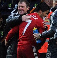 Suarez hat trick -v- Norwich 28 April 2012