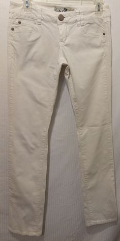 1e30f80c8be09 Women JOLT Bright White Corduroy Skinny Jeans Size 5 #fashion #clothing  #shoes #accessories #womensclothing #jeans (ebay link)