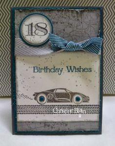 Masculine 18th Birthday Delight by Happy Heart Cards