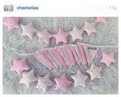 Stjernegirlander med jentenavn