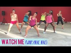 Silento - Watch Me (Whip/Nae Nae) | Dance Fitness with Jessica - YouTube
