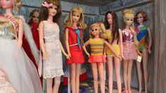 TNT Francie, Straight Leg Francie, Fluff, Baggie Francie and Growin Pretty Hair Francie
