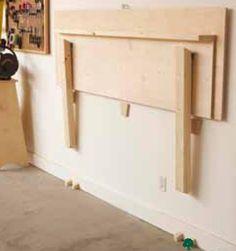 Fold-Flat Workbench Woodworking Plan, Workshop & Jigs Workbenches Workshop & Jigs $2 Shop Plans