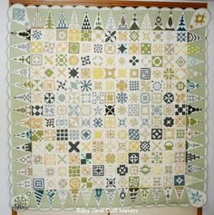 Dear Jane quilt by Chikoy (Japan) seen at Baby Jane Quiltmakers