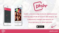 http://www.pkshr.com/ - BrilliSoft, in partnership with Moqod, recently announced the release of Pkshr, a cool new photo sharing app for the iPhone. Do you want to know why?  Look through the lens of those near you with Pkshr - Free Photo Sharing - Get the App Now! - https://itunes.apple.com/us/app/pkshr.-pictures-shared.-discover/id880239840?ls=1&mt=8