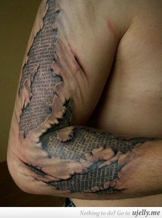 You would just spend ages reading your arm.
