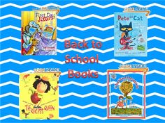 Back to School Books!  List of books for those first weeks back to school