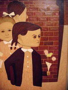 The Girls At School, John Brack, Australian artist