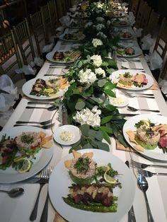 Elegant Table settings - JBOH Catered Events www.jimbentonhouston.com
