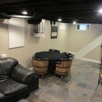 Recently Superior Woodworking located in the Metro Detroit area remodeled a wet basement using Sani- & 73 best Basement Waterproofing images on Pinterest | Basement ...