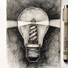 Lighthouse Ink © Alfred Basha