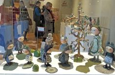 Tiny Pond - Julie Arkell      Julie Arkell  currently has an exhibition at the Harley Gallery . This is a rare treat so if you can get...