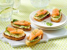 Fingerfood - herzhafte Snacks für Party und Buffet - lachs-meerrettich-haeppchen  Rezept