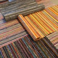Tear, Carpet Design, Recycled Fabric, Woven Rug, Scandinavian Style, Rugs On Carpet, Color Inspiration, Pattern Design, Weaving