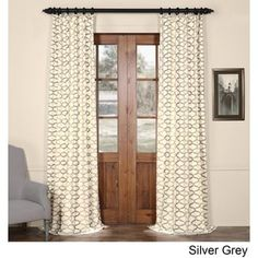shop for exclusive fabrics illusions printed cotton curtain panel free shipping on orders over 45
