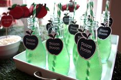 Snow white party drinks