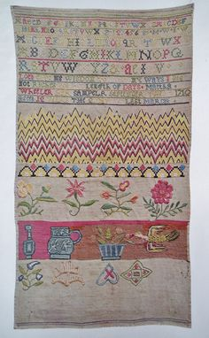 Samplers by Leigh Ashton 1926 Vintage 20s Book First Edition - history of antique textiles English European