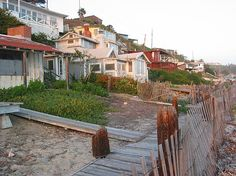 The 45 Cottages Are Today A State Historic District In Center Of Crystal Cove