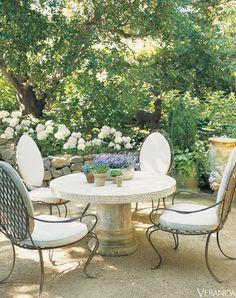 Atlanta-based designer Ginny Magher's farmhouse in Provence.