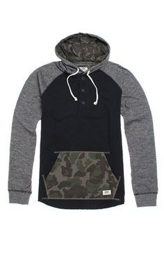 Vans Lindero Pullover Hooded Shirt #pacsun