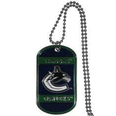 Vancouver Canucks® Tag Necklace
