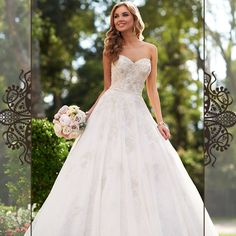 Wonderfull dress by Stella York