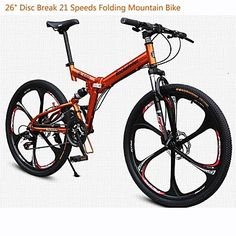 "Rockefeller ™ Cycling  21 Speeds Double Disc Brake 26""Mountain Bike 6 Spokes Wheel – USD $ 319.99"