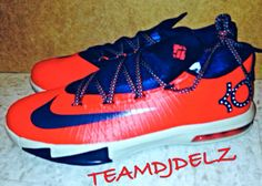 "THE SNEAKER ADDICT: 2014 Nike KD 6 VI ""DC"" Sneaker (Detailed New Images)"