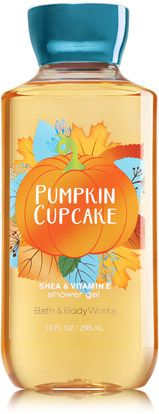 Pumpkin Cupcake Shower Gel - Signature Collection - Bath & Body Works
