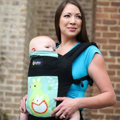 Asian style baby carriers