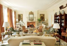 Fireplaces by Architectural Digest | AD DesignFile - Home Decorating Photos | Architectural Digest