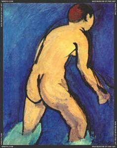 Bather 1909 by Matisse, Henri