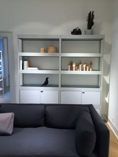 Took this picture at HAY's new flagship store in Oslo. These 'New Order' shelves are in the final stage of production and will be available this autumn.