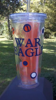 Auburn Tigers War Eagle Tumbler