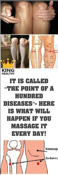 "IT IS CALLED ""THE POINT OF A HUNDRED DISEASES""- HERE IS WHAT WILL HAPPEN IF YOU MASSAGE IT EVERY DAY! – Toned"