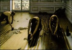 Gustave Caillebotte - I piallatori di parquet - Museo D'Orsay - 1875