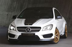 Mercedes CLA45 AMG Powerkit and Wide Body Kit by Loewenstein