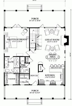 Planned House Plan first floor