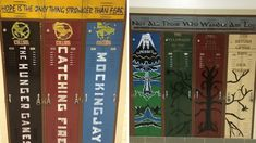 An Illinois school's attempt to encourage students to read has proven popular on social media. Book Stairs, M&m Game, All American Boy, Locker Decorations, School Lockers, Hunger Games Trilogy, English Classroom, Harry Potter Books, Book Images