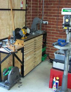 Garage Workshop Perfect For Motorcycle Storage And Still Utilize