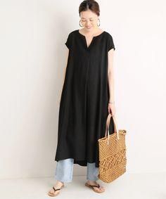 Japan Fashion, Curvy Fashion, Modest Fashion, Fashion 2020, Fashion Outfits, Womens Fashion, Fashion Tips, Black Summer Outfits, Casual Work Outfits