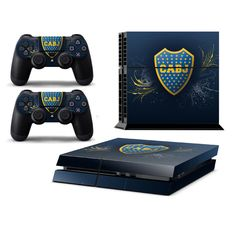 BOCA JUNIORS Playstation 4 PS4 Skin Decal Sticker Cover Playstation 4 Custom Made