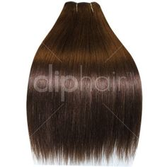 18 Inch Double Wefted Full Head | Clip In Hair Extensions |  Chocolate Brown- Medium Brown | 170g of hair | Real Hair | £59.99 | Cliphair Hair Extensions |