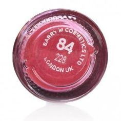 Barry M Dazzle Dust Cherry Red 84