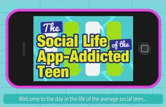 Social media and internet addiction among teens is on the rise.