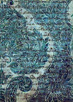 Botanic indigo