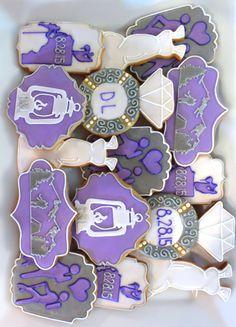 Outdoors Wedding Sugar Cookies Sweet17Cookies.Etsy.com