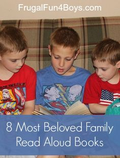 A list of 8 beloved books that are perfect for reading together as a family.