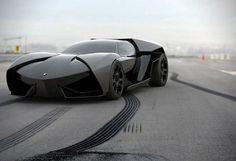 Aggressive Lamborghini Ankonian Concept Car - Slavche Tanevsky