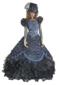 Gothic Wedding Dress Steampunk Vintage by CaughtMyEyeCandy on Etsy, $300.00